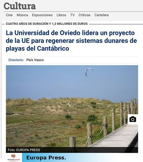 News published on the Europapress.es website, Culture section