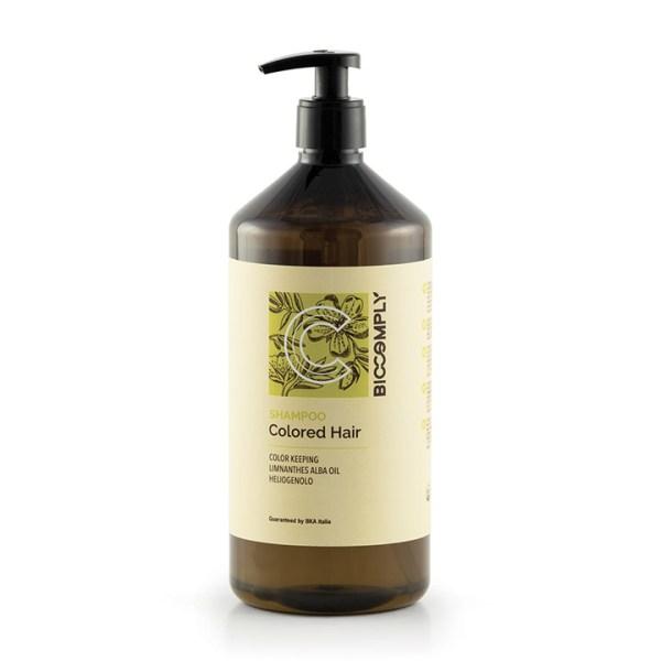 ARCosmetici biocomply colored hair shampoo vegetale naturale capelli colorati o meches 1l