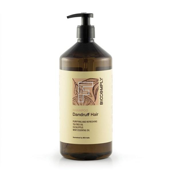 ARCosmetici biocomply dandruff shampoo vegetale naturale purifica capelli con forfora 1000ml
