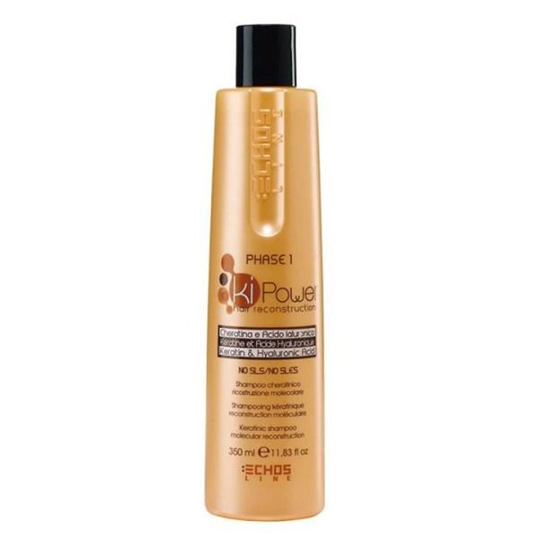 ARCosmetici shampoo cheratina acido ialuronico ricostruzione capelli echos line 1