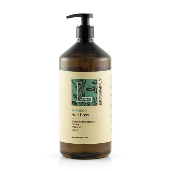 ARCosmetici biocomply hair loss shampoo vegetale naturale capelli deboli sottili anticaduta 1l
