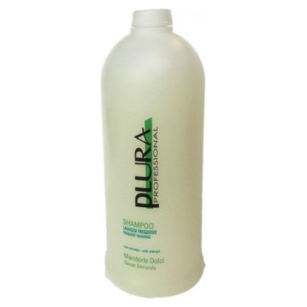 shampoo plura per lavaggi frequenti con estratto mandorle dolci 1000ml
