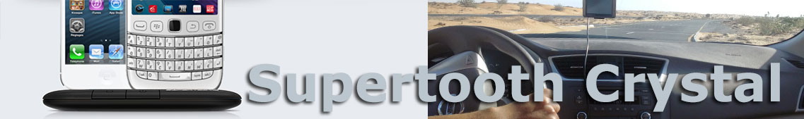 Supertooth Crystal, Auto BT Freisprecheinrichtung