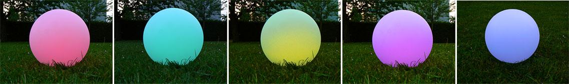 LED Solar Leuchte mit Farbwechsel, Gartenbeleuchtung ohne Strom