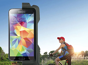 Interphone Fahrrad und Motorradhalterung für iPhone