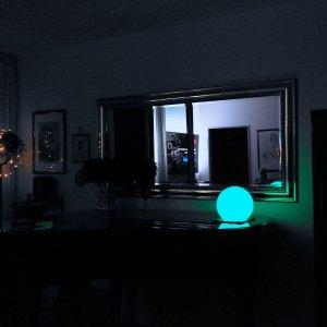 Kabellose LED Kugelleuchte für Haus, innen und außen
