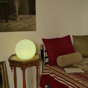 LED Kugelleuchte, Leuchtkugel für Haus und Garten, innen und außen