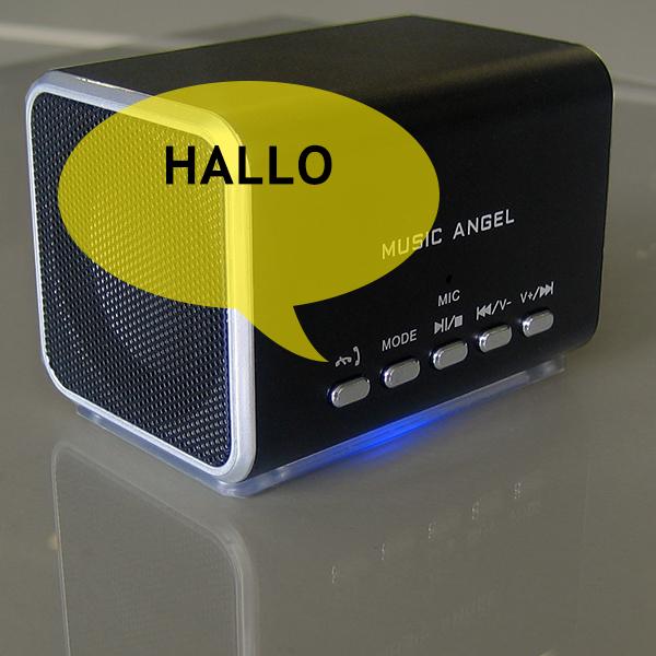 Bluetooth Mini Lautsprecher Music Angel