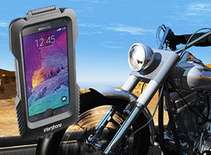 Interphone Fahrrad und Motorradhalterung für Samsung