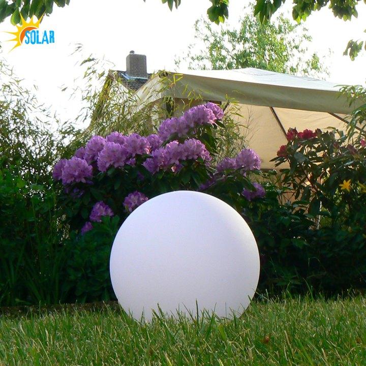 30cm LED Solar-Kugelleuchte, Leuchtkugel