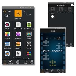 Divoom Timebox, Bluetooth Lautsprecher mit Tools