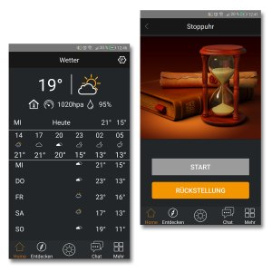 Divoom TimeBox, praktische Tool mit Wetter und Stopuhr