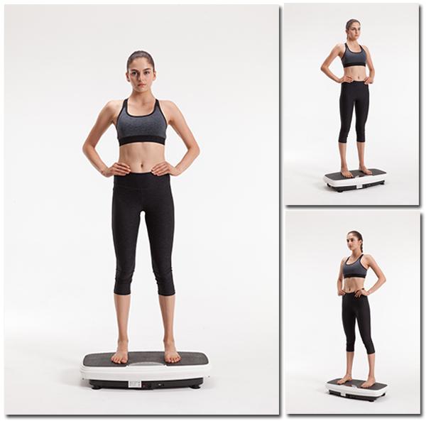 Vibrationsplatte - Übungen, Richtige Haltung