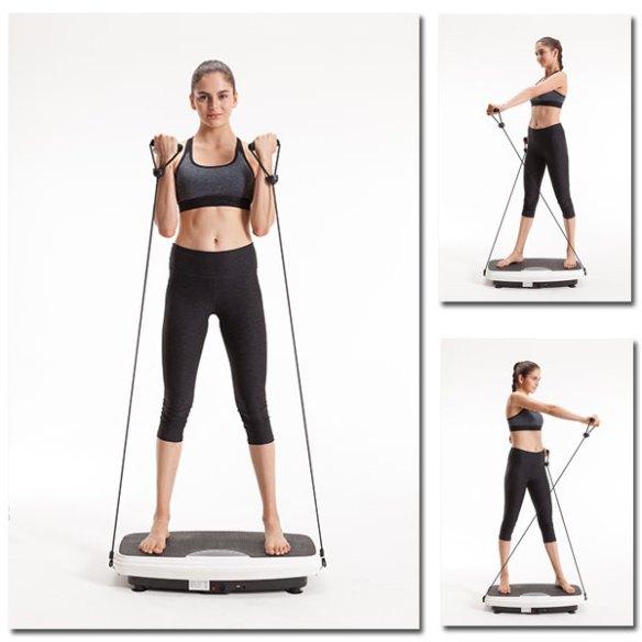 Vibrationsplatte - Übungen, Push-up-Haltung
