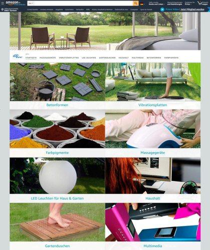 Amazon Markenwelt von @tec, arcotec GmbH