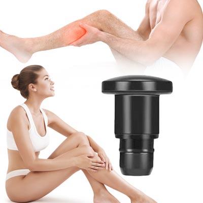 Massagepistole, Massagekopf - Flacher Kopf für alle Körperbereiche geeignet