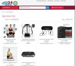 attec24 Onlineshop, Vibrationsplatten von arcotec