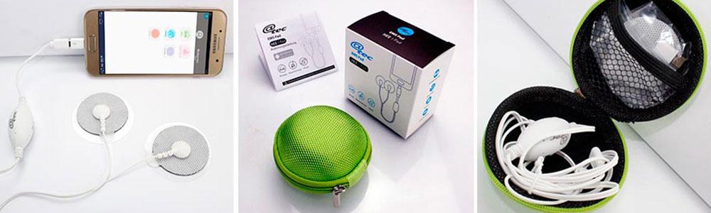 @tec - EMS PAD die Elektrostimulation für MASSAGE, KÖRPERFORMUNG und FITNESS App-gesteuerte Massage-Elektrostimulationsgeräte
