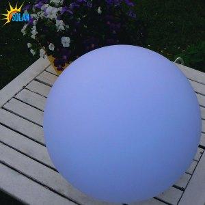LED Solar-Kugellampe, Leuchtkugel für Haus und Garten, Beitragsbild