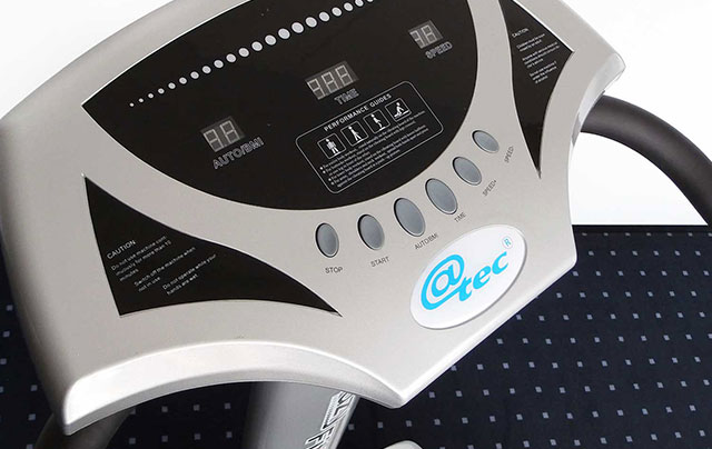 @tec Crazy Fit Massage - Vibrationsplatte mit LED Steuerpult