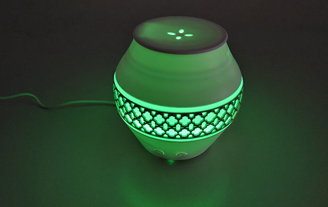 Aromalampe mit LED Farbwechsel, elektrische Diffuser