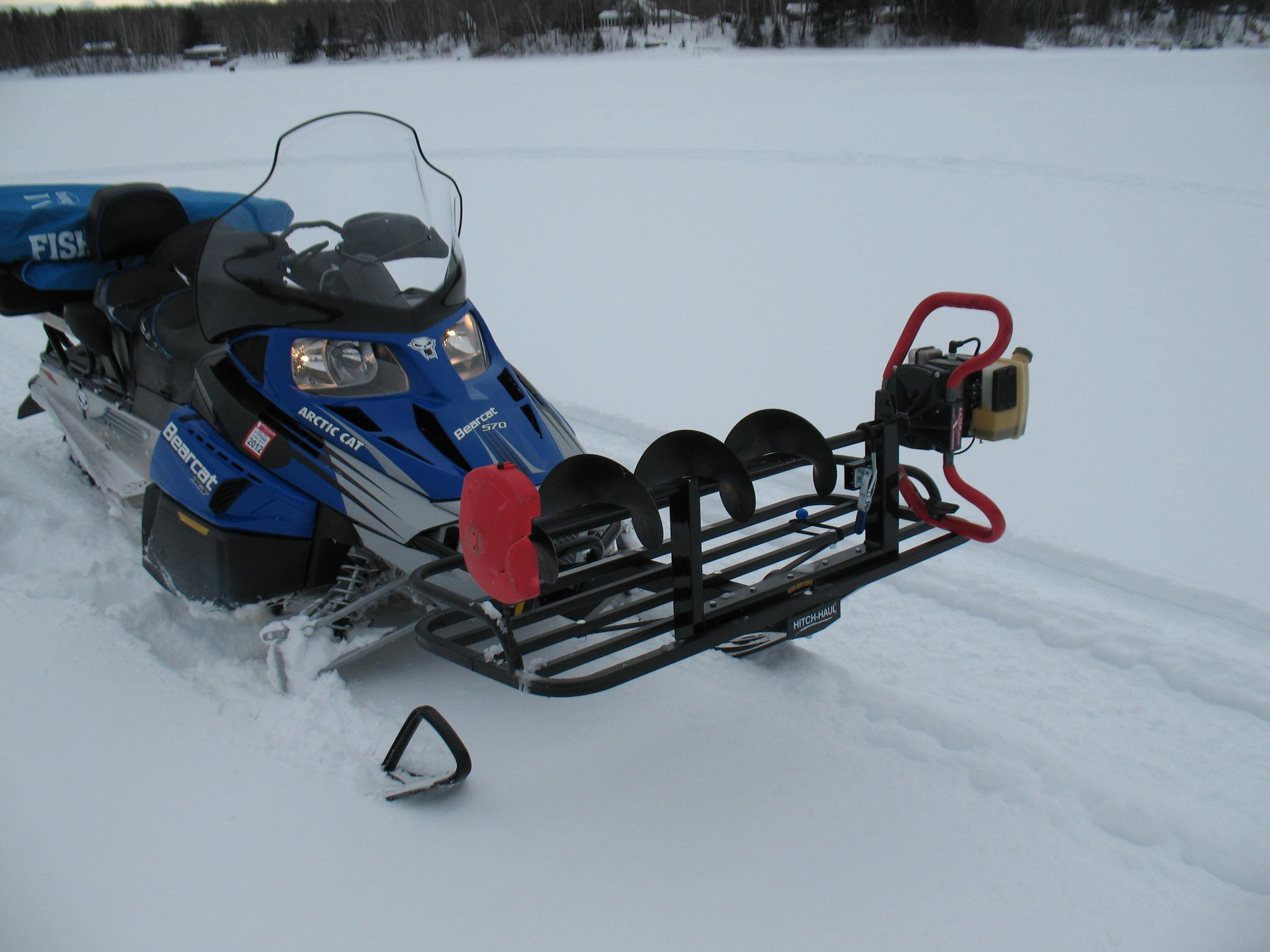ice fishing sled mod pictures arctic