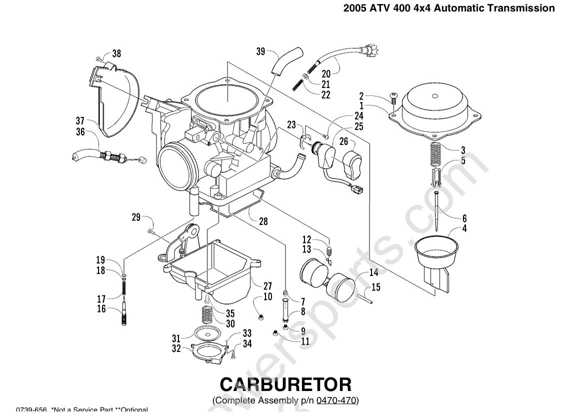 Quadrajet Carburetor Rebuild Diagram