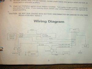 anyone ? wiring diagram for 1971 panther 399 kohler