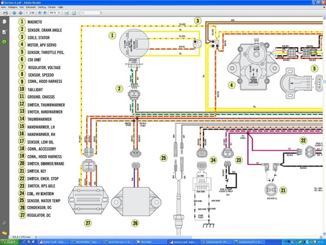 arctic cat z1 wiring diagram arctic wiring diagrams