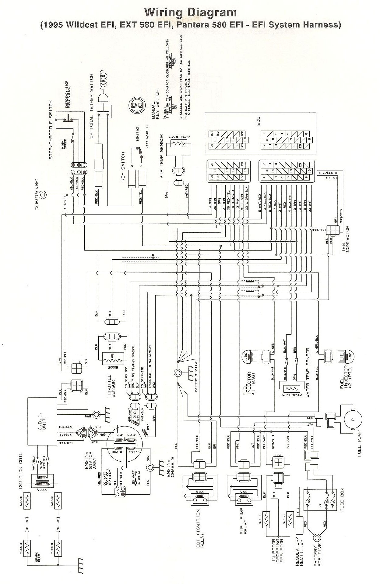 500 Efi Polaris Wiring Diagram