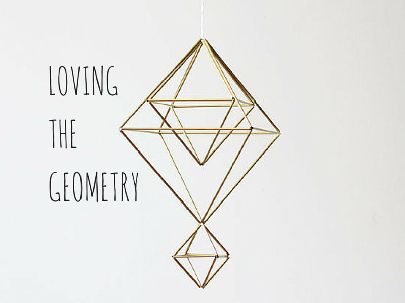 ARCTICdeco.com: Loving the Geometry; geometric decor ideas