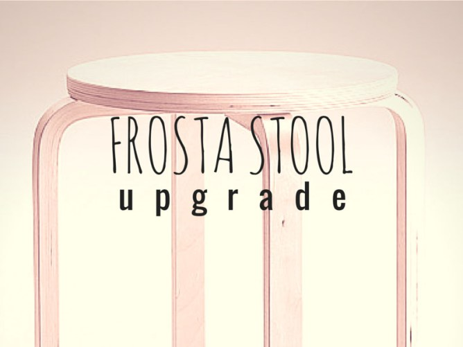 ARCTICdeco.com: Frosta Stool Design Upgrade