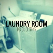 Laundry Room Decor Options