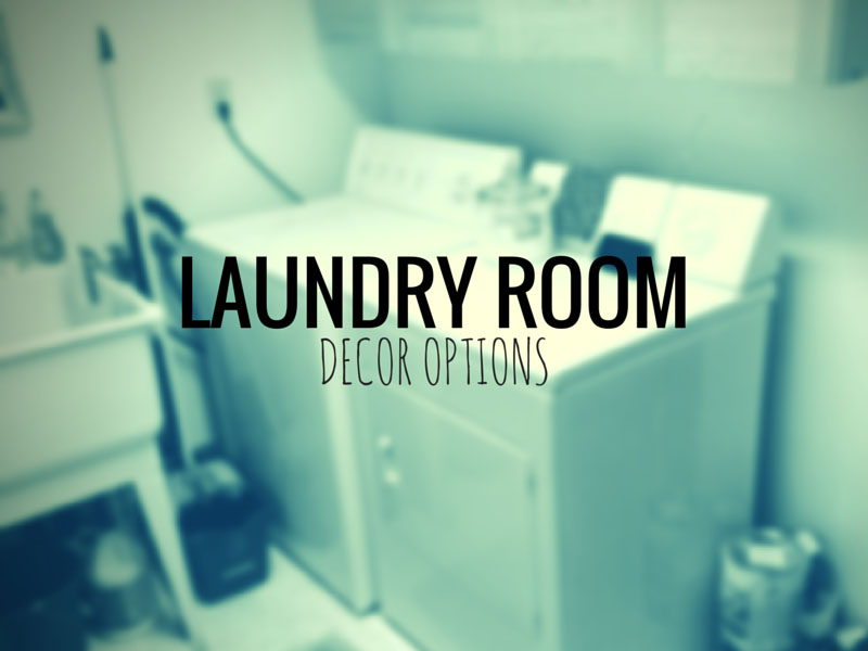 ARCTICdeco.com: Laundry Room Decor Options