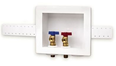 recessed pipes