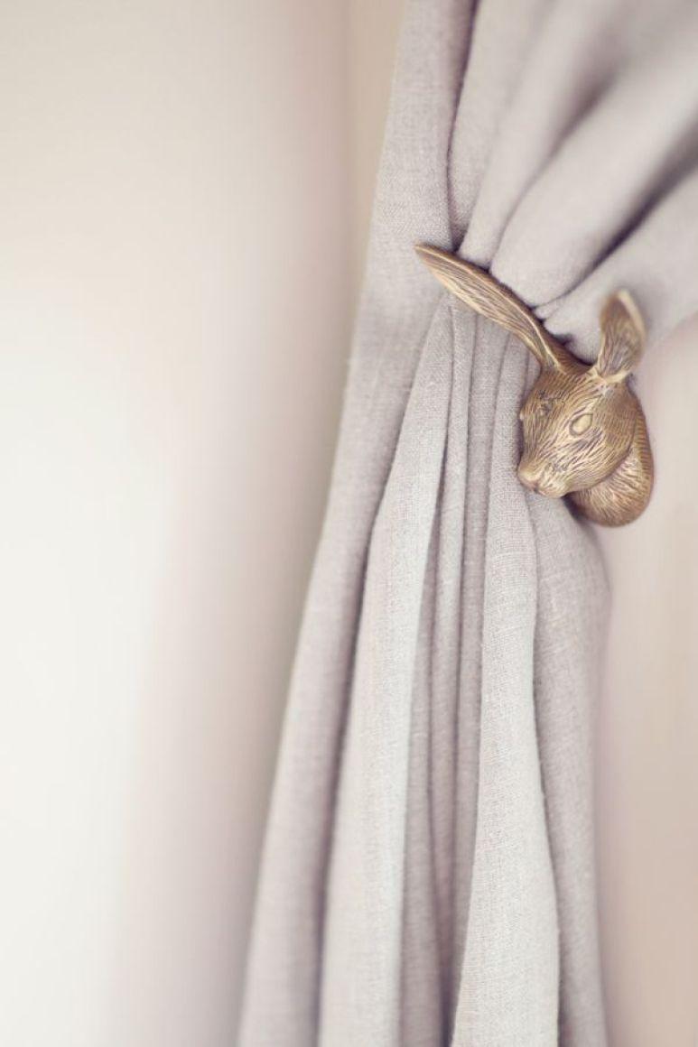 ARCTICdeco.com: Bunny Curtain Holdback