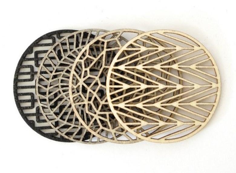 ARCTICdeco.com: Geometric Coasters
