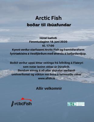Íbúafundur á Ísafirði 18.06.2020