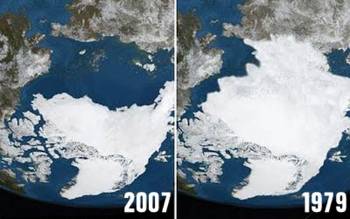 Image result for arctic ice melt