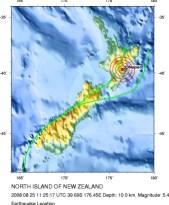 震中所在地(点击大图)(来源:USGS,公有领域)