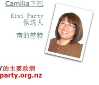 The Kiwi Party Candidate