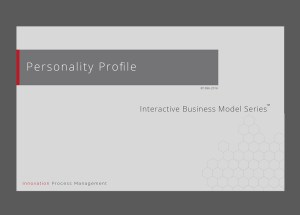 Personality Profile / Persona Mapping & Analysis