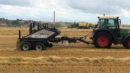 ARCUSIN ACCUMULATEUR BALES BALE CHASER FORSTACK FRANCE 6