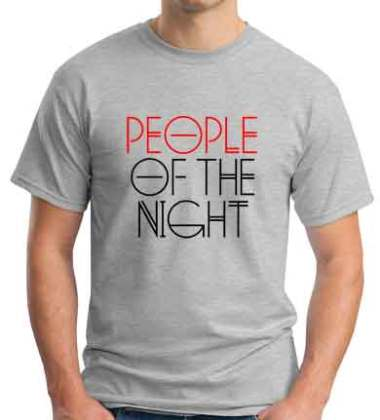 AN21 People Of The Night T-Shirt Crew Neck Short Sleeve Men Women Tee DJ Merchandise Ardamus.com