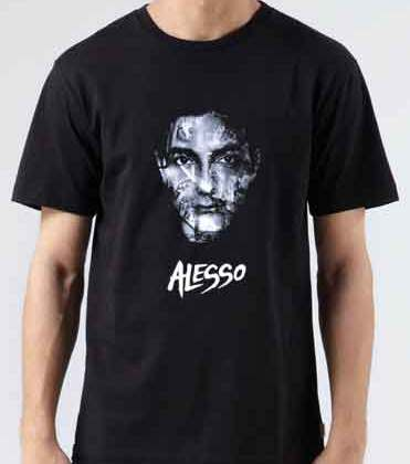 Alesso Years T-Shirt Crew Neck Short Sleeve Men Women Tee DJ Merchandise Ardamus.com