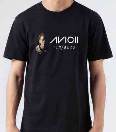 Avicii Last Dance T-Shirt Crew Neck Short Sleeve Men Women Tee DJ Merchandise Ardamus.com
