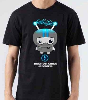 ASOT 500 Buenos Aires Argentina T-Shirt Crew Neck Short Sleeve Men Women Tee DJ Merchandise Ardamus.com