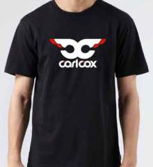 Carl Cox Logo T-Shirt Crew Neck Short Sleeve Men Women Tee DJ Merchandise Ardamus.com