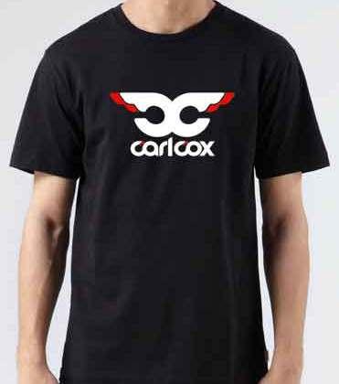 Carl Cox Logo T-Shirt Crew Neck Short Sleeve Men Women Tee DJ Merchandise Ardamus.com