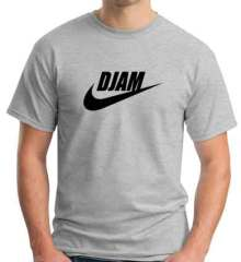 DJ AM Nike Logo T-Shirt Crew Neck Short Sleeve Men Women Tee DJ Merchandise Ardamus.com